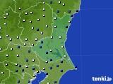 茨城県のアメダス実況(風向・風速)(2018年05月11日)