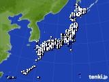 2018年05月16日のアメダス(風向・風速)