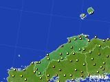 島根県のアメダス実況(気温)(2018年05月21日)