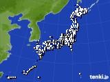 2018年05月21日のアメダス(風向・風速)