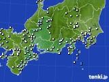 東海地方のアメダス実況(降水量)(2018年05月23日)