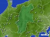 長野県のアメダス実況(降水量)(2018年05月23日)