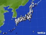 2018年05月23日のアメダス(風向・風速)