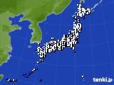 2018年05月26日のアメダス(風向・風速)