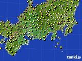 2018年05月28日の東海地方のアメダス(気温)