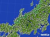 2018年05月29日の北陸地方のアメダス(風向・風速)