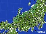 2018年05月30日の北陸地方のアメダス(風向・風速)