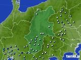 長野県のアメダス実況(降水量)(2018年05月31日)