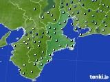 三重県のアメダス実況(降水量)(2018年05月31日)