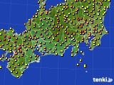 2018年06月04日の東海地方のアメダス(気温)