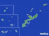 2018年06月06日の沖縄県のアメダス(降水量)