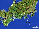 2018年06月07日の東海地方のアメダス(気温)