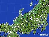 2018年06月08日の北陸地方のアメダス(風向・風速)