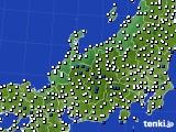 2018年06月16日の北陸地方のアメダス(風向・風速)