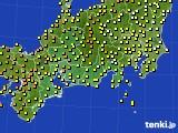 東海地方のアメダス実況(気温)(2018年06月17日)