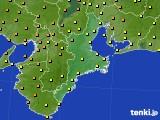 2018年06月17日の三重県のアメダス(気温)
