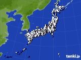 アメダス実況(風向・風速)(2018年06月23日)