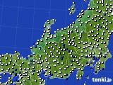 2018年06月26日の北陸地方のアメダス(風向・風速)