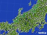 2018年06月28日の北陸地方のアメダス(風向・風速)
