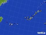 2018年07月21日の沖縄地方のアメダス(風向・風速)