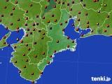 2018年07月25日の三重県のアメダス(気温)