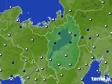 滋賀県のアメダス実況(風向・風速)(2018年07月28日)
