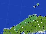 島根県のアメダス実況(風向・風速)(2018年07月28日)