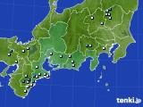 東海地方のアメダス実況(降水量)(2018年07月29日)