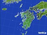 九州地方のアメダス実況(降水量)(2018年07月29日)