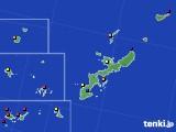 沖縄県のアメダス実況(日照時間)(2018年08月03日)