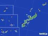 沖縄県のアメダス実況(風向・風速)(2018年08月10日)