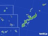 2018年08月11日の沖縄県のアメダス(降水量)