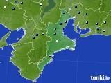 2018年08月12日の三重県のアメダス(降水量)