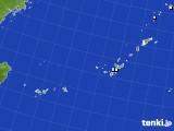 沖縄地方のアメダス実況(降水量)(2018年08月13日)