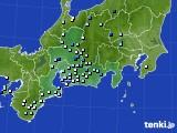 東海地方のアメダス実況(降水量)(2018年08月15日)