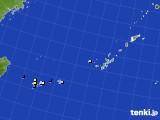 沖縄地方のアメダス実況(降水量)(2018年08月17日)