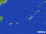 沖縄地方のアメダス実況(降水量)(2018年08月21日)