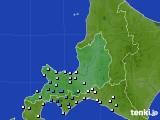 道央のアメダス実況(降水量)(2018年08月21日)