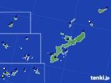 沖縄県のアメダス実況(風向・風速)(2018年08月23日)