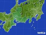東海地方のアメダス実況(降水量)(2018年08月25日)