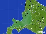道央のアメダス実況(降水量)(2018年08月25日)