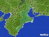 2018年09月01日の三重県のアメダス(気温)