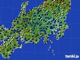 関東・甲信地方のアメダス実況(日照時間)(2018年09月06日)