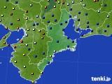 三重県のアメダス実況(日照時間)(2018年09月11日)