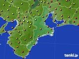 2018年09月17日の三重県のアメダス(気温)