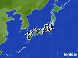 アメダス実況(降水量)(2018年09月21日)