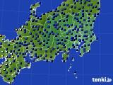関東・甲信地方のアメダス実況(日照時間)(2018年09月21日)