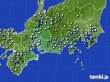2018年09月30日の東海地方のアメダス(降水量)