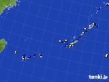 2018年10月03日の沖縄地方のアメダス(風向・風速)