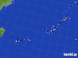 2018年10月04日の沖縄地方のアメダス(日照時間)